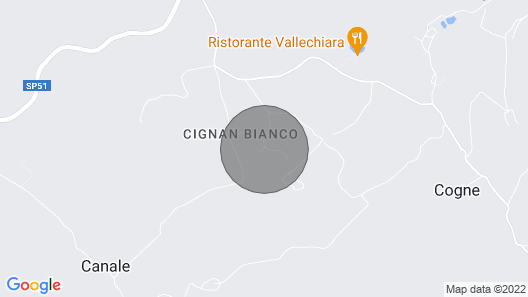 Villa With Large Garden in the Chianti Hills Map