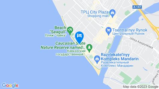 Prichal Hotel Map