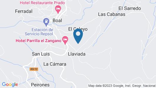 Hotel Rural La Solana - Posada de caballos Map