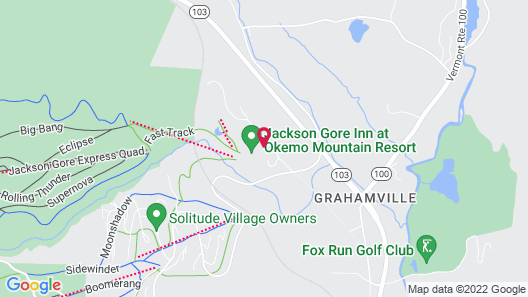 Jackson Gore Village Map