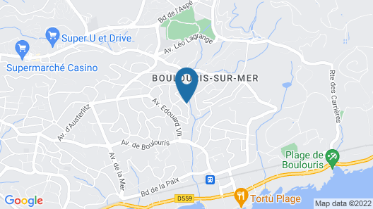 Apartment With one Bedroom in Saint-raphaël, With Enclosed Garden and Wifi - 900 m From the Beach Map