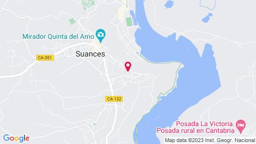 Apartamentos La Fuente de Enmedio Map