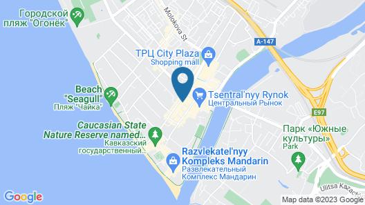 Forward Aparthotel Map