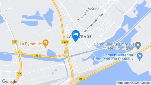 Hotel Vila Map