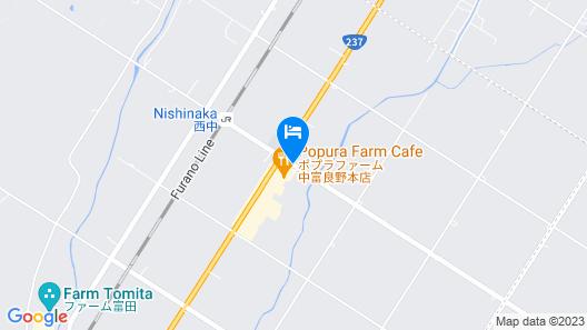 Petit Hotel Blanc Fleur Map