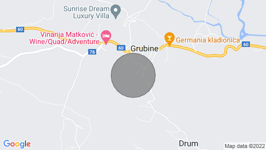 Amazing Home in Grubine With Wifi and 3 Bedrooms Map