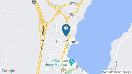 Courtyard by Marriott Lake George Map