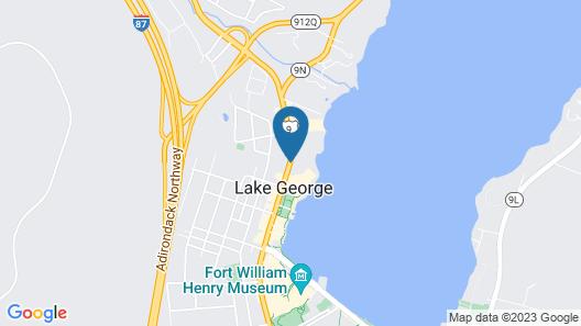 Marine Village Resort Map