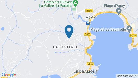Village Pierre & Vacances - Cap Esterel - Saint Raphaël Village Map