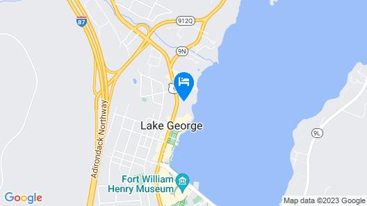 Lake Crest Inn Map
