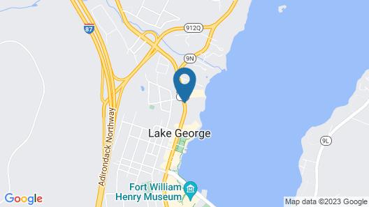 The Lake Motel Map