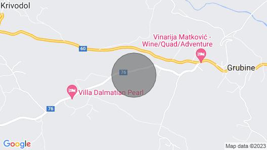 5 Bedroom Accommodation in Poljica Map