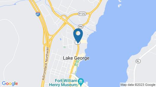 The Georgian Lakeside Resort Map