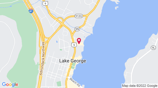 Surfside On The Lake Map