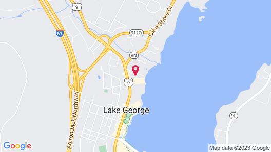 Sundowner on Lake George Map