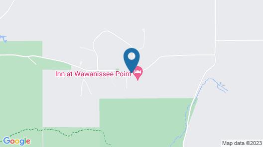 Inn at Wawanissee Point Map