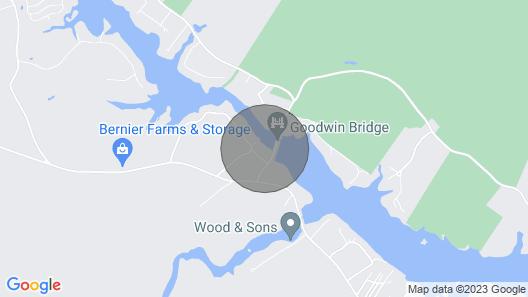 Cozy Camp on Estes Lake Map
