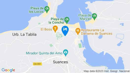 Costa Esmeralda Suites Map