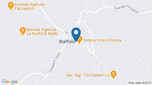 Relais Del Borgo Hotel e Spa Map