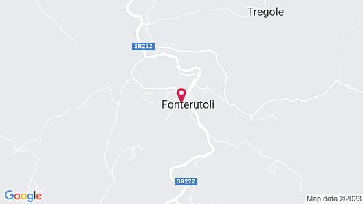 Castello di Fonterutoli Map