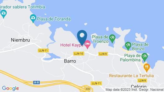 Apartamentos Albatros Map