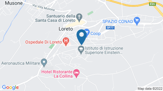 San Francesco Hotel Map