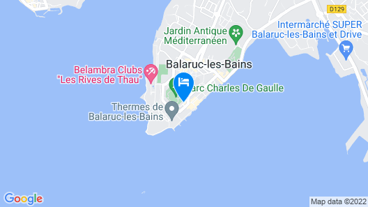 Best Western Hotel des Thermes Map