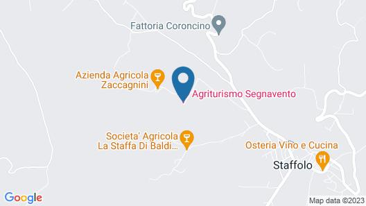 Agriturismo Segnavento - Zaccagnini Map