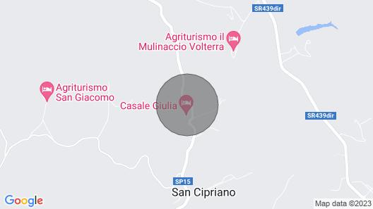 Apartment Stregaia in Volterra - 4 Persons, 2 Bedrooms Map