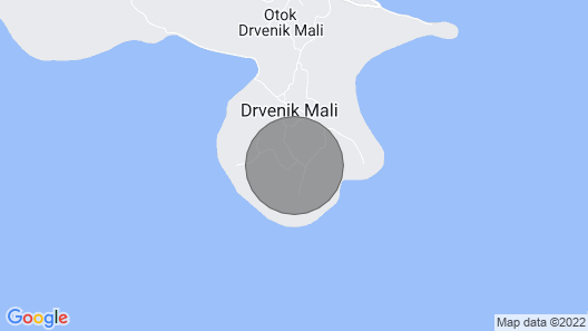 Escape Holiday House, Island Drvenik Mali, Trogir, Robinson's way Map