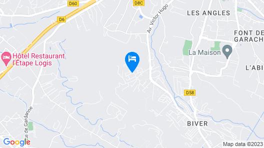 Locabed - Maison de vacances en Provence Map