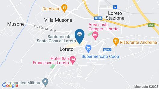 Pensione Piemonte Map