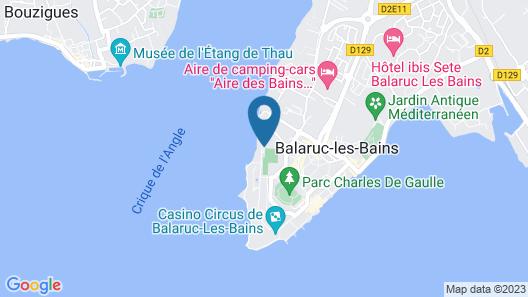 Club Belambra Les Rives de Thau Map