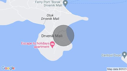 Vila Sanadrija, Trogir Map