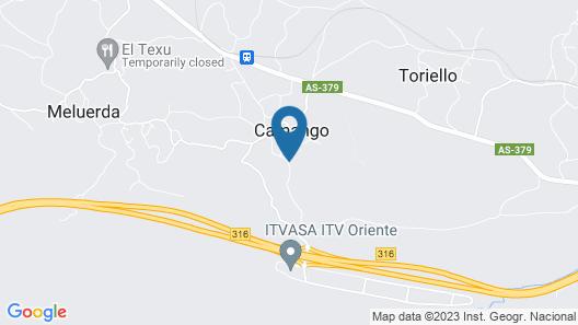 Casa de Aldea Ruiloba Map
