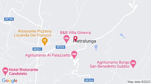 Country House La Locanda del Borgo Map