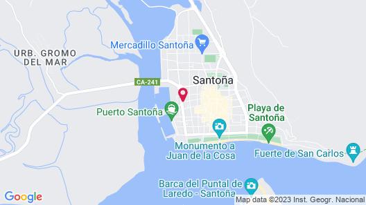Alojamiento Miramar Map