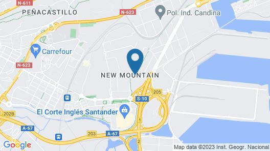 Hotel City Express Santander Parayas Map