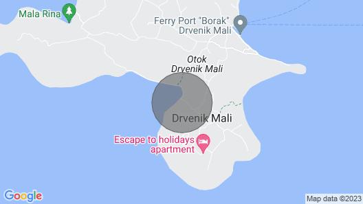 Luxury Villa Vela Rina Map