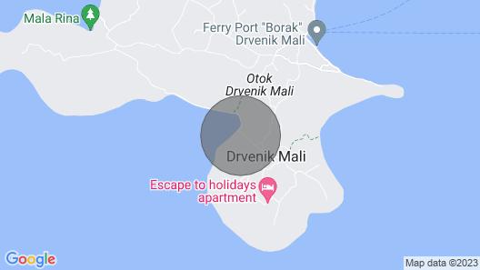 3 Bedroom Accommodation in Drvenik Mali Map