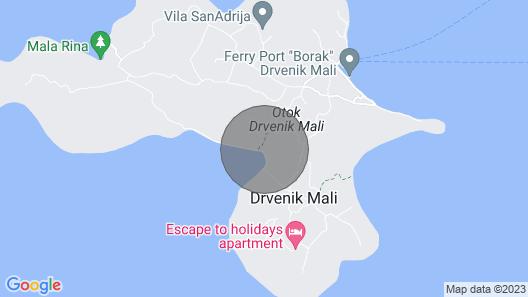 4 Bedroom Accommodation in Drvenik Mali Map