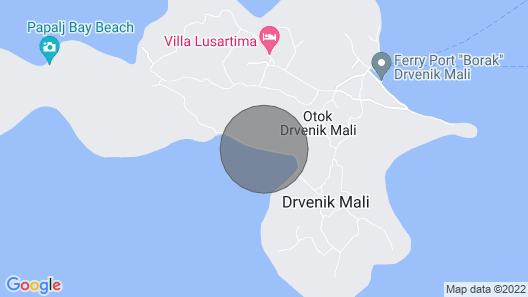 Villa Pearl of Adriatic - Discover Something Undiscover Map