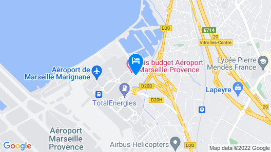ibis budget Airport Marseille Provence Map