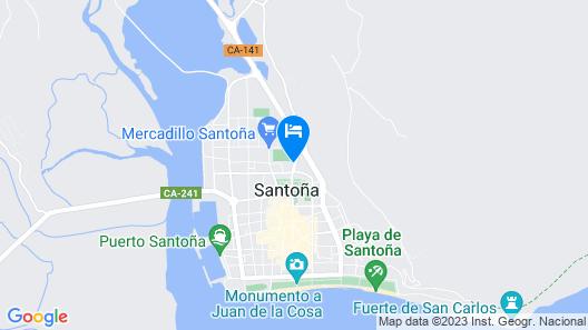 Hostel El Paloma Map