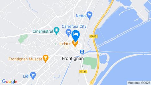Hotel-Restaurant Le Goût des Hôtes Map
