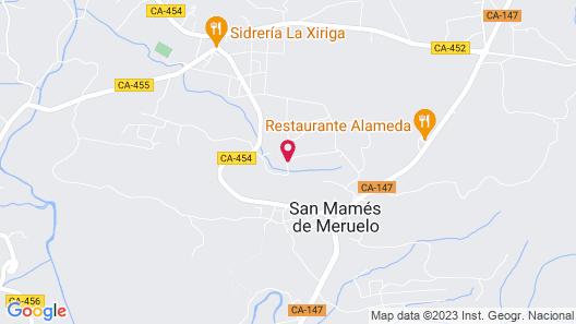 Casona de La Parra Map