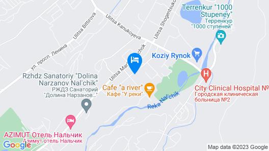 Korona Hotel Map