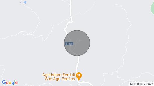 Cornocchio 2 - Holiday Rental With Swimming Pool Near San Gimignano, Tuscany Map