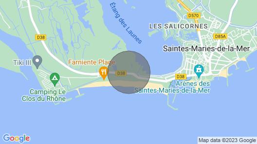 Saintes Maries De La Mer: apartment/ flat - Les saintes maries de la mer Map