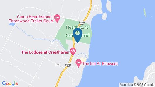 The Stone Gate Resort Map